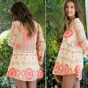 ❤&🍋 Barcelona Mini Dress